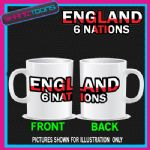 ENGLAND 6 NATIONS RUGBY MUG